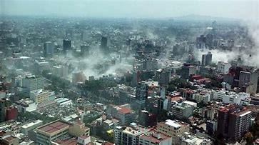 Temblor afectamiento México